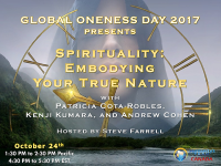 Spirituality, Spiritual, Telesummit, Global Oneness Day