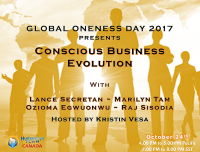 Conscious Business, Evolution, Mindful Business, Oneness, Telesummit, Business Leaders, Global Oneness Day